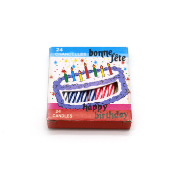 0,5 * 6cm Party Celebrated Wax Candle