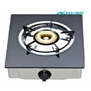 Tempered Glass Top Single Burner Gas Stove