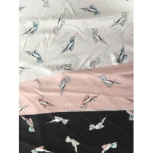 Animal Design Rayon Poplin shuttle 45S Printing Fabric
