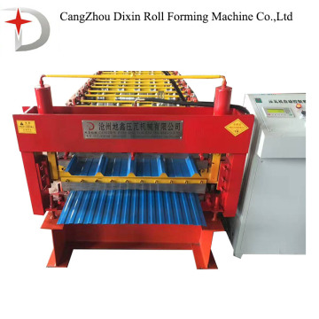 DX Trapezoidal double layers roll forming machine