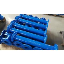 Ductile Iron Flanged Pipes with puddle flange
