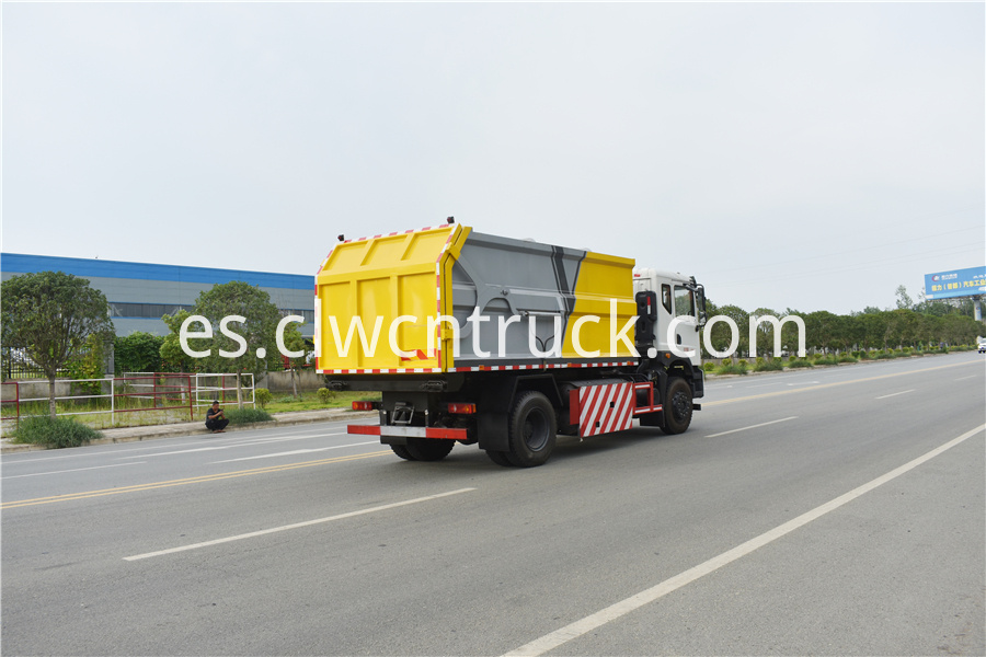 municipal solid waste collection truck supplier