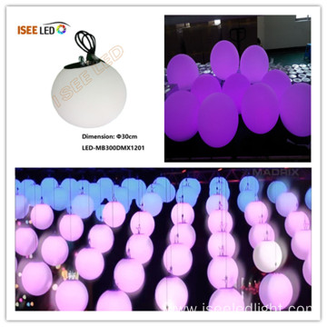 OEM for China Manufacturer of Magic Led Ball,Magic Led Hanging Ball,Led Magic Ball Light,Disco Light Ball Waterproof dia 30cm dmx rgb ball sphere supply to South Korea Exporter