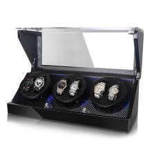 Automatic Rotations Wooden Watch Winder Storage Box