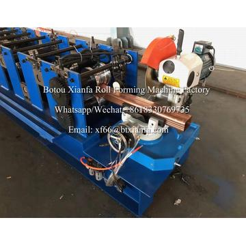 Metal Square Downspout Forming Machine with Bender