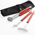 3PCS Stainless Steel BBQ Tool Set