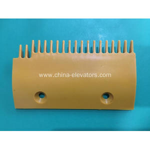 Yellow Plastic Comb for Sigma Escalators