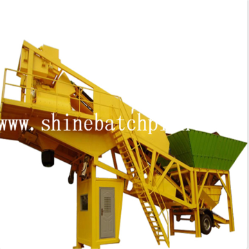 75 Portable Concrete Mixer Plant