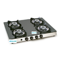 Gas Glass Stove With Aluminium Alloy Burners