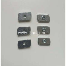 Zinc plated Diamond plane welded CAM nut
