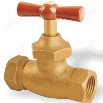 Quality for Stop Valves Brass Globe Valve With Pipe Union supply to Sao Tome and Principe Exporter