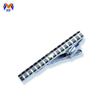High end stainless steel tie clip bar
