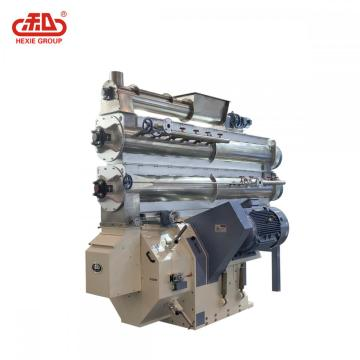 Rendah Elektrik Feed Feed Ring Die Pellet Mill