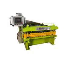 double color coated steel sheet machine