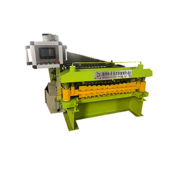 Double automatic steel roof panel forming machine