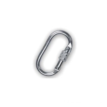 Safety Carabiner Round Screw Carabiner