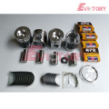 excavator 4TNE106 engine gasket bearing piston ring liner