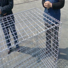 China OEM for Welded Gabion Basket Wire Mesh Box Galvanized Gabion Basket Retaining Wall supply to China Hong Kong Manufacturers
