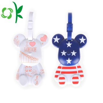 Attractive Custom Printed Cartoon Luggage Tags