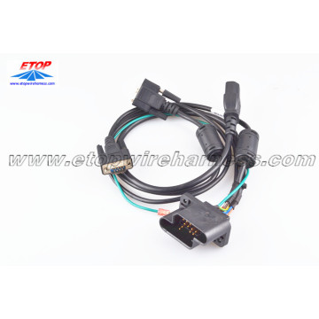 New Fashion Design for for China Game Machine Wire Assembly,Wire Connectors Assembly,Wiring Harness For Game Machine Supplier Power cable for game machine supply to South Korea Suppliers
