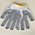 Natural White Work Glove With PVC Dots