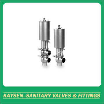 3A clamp Sanitary double seat mixproof valves