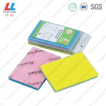 Special Design for Green Sponge Scouring Pad Kitchen Cleaning Thin Sponge export to India Manufacturer