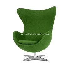 Arne Jacobsen fabric egg chair replica