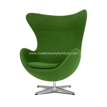 Online Manufacturer for Fabric Wooden Lounge Chairs Arne Jacobsen fabric egg chair replica export to France Factory