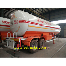 ODM for LPG Tank Trailers, LPG Gas Tanker Trailers, LPG Trailer Tankers supplier 40000L 2 Axle LPG Gas Trailer Tanks export to Mauritania Suppliers