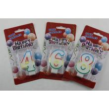 High Quality Colorful Birthday Number Candles
