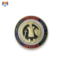 Whole armor of god challenge coin