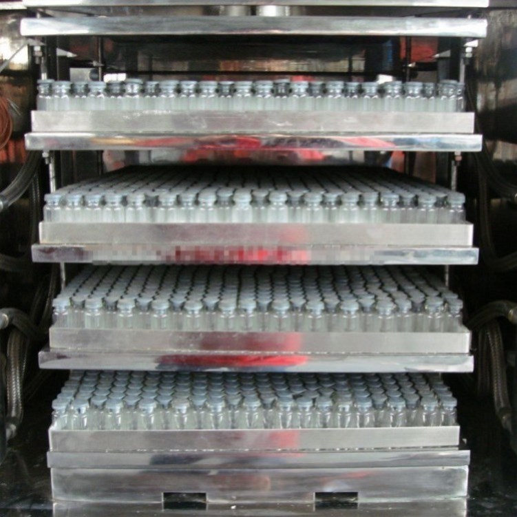 high efficient medical use penicillin bottles freeze dryer