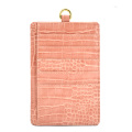 New fashion Crocodile Lanyard Wallet Leather Card Holder
