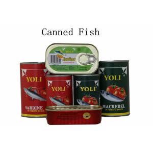 Canned Food Canned Sardines in Vegetable Oil
