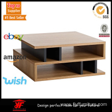 Goods high definition for Coffee Table Walnut Large Square Coffee Table Near Me export to France Manufacturer
