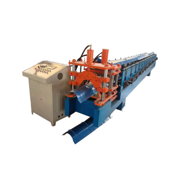 Metal Glazed Ridge Cap Roll Forming Machine