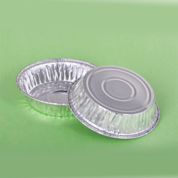 Round Pie Aluminum Foil party Plate