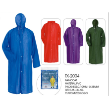 Factory selling for Transparent PVC Raincoat outdoor sport rain jacket raincoat export to Japan Factory