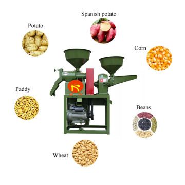 Electronic Mini Rice Mill Machine Hot Sale