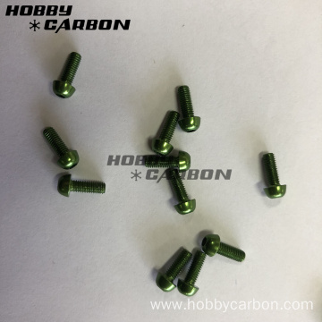 ສີຂຽວ M3 Auminium Screws Post
