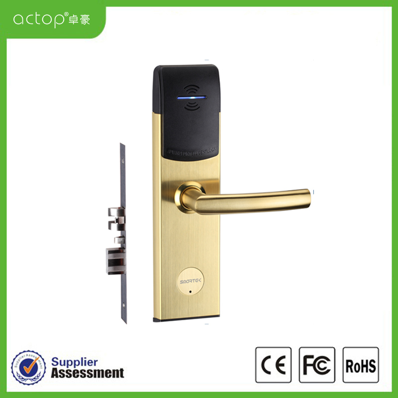 Electronic Door Lock Us Standard Hotel Card Key Lock