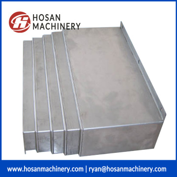 Hinged steel belt chip conveyor