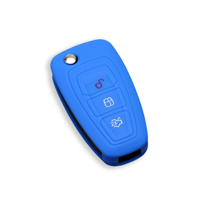 Logo Focus 3 Buttons Key Case