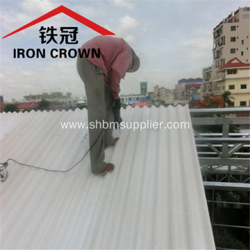 Low-Cost Long Span Heat-insulating MgO Roof Sheet
