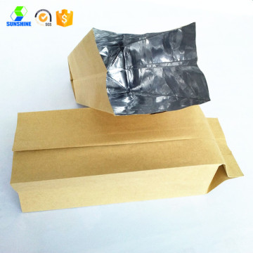Aluminum foil grocery bag food bag