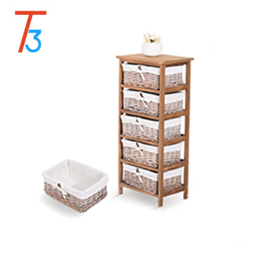 OEM/ODM for Wooden Cabinet,Wooden Storage Cabinet,Corner Wooden Cabinet Manufacturer in China Wholesaler Wooden storage cabinet with multi-layer drawers and handles supply to Cocos (Keeling) Islands Wholesale