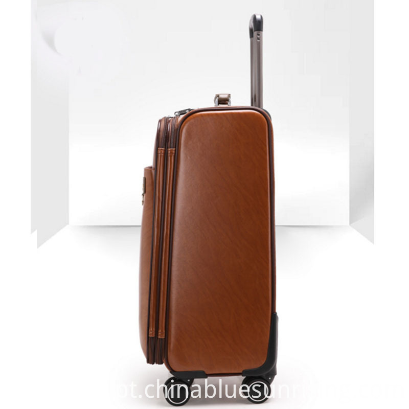 High quality pu luggage