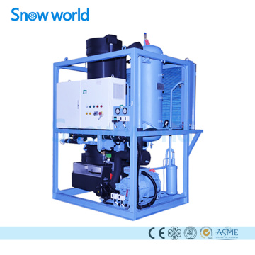 Snow world Tube Ice Machine Water Cooling