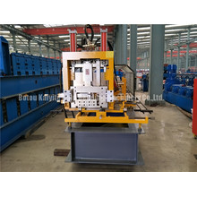 Reliable for Steel Z Profile Roll Forming Machine Flying Saw Automatic CZ Purlin Roll Former export to Guinea Factories